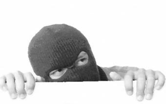 Undercover Man Hiding